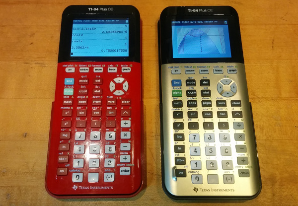 Hands-On with the Gold TI-84 Plus CE (2016) - Cemetech