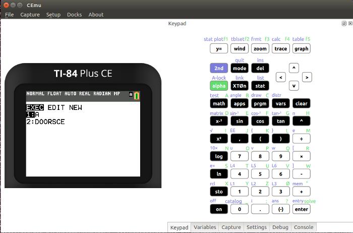 Cemetech | News | CEmu - A TI-84 Plus CE Emulator Released