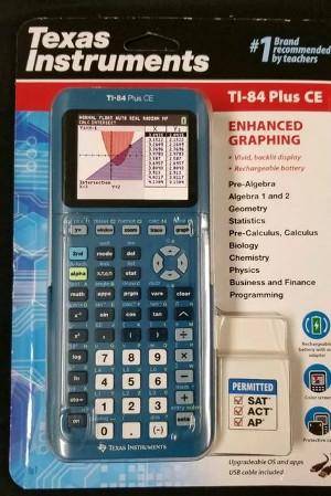 Teal TI-84 Plus CE
