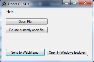 Doors CS SDK GUI