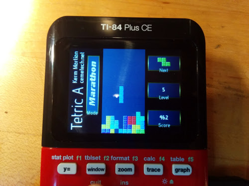 Tetric A (Tetris) for the TI-84 Plus CE - Cemetech | Forum | Other ...