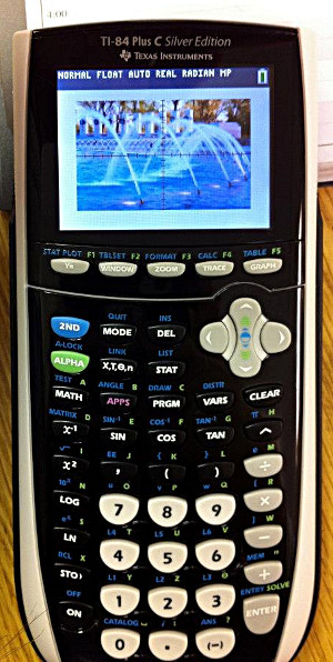 TI-84 Plus C color-screen calculator