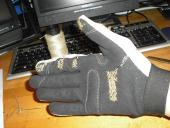 Glove sewing