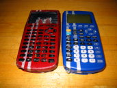 Ultimate Calculators 1 and 2 compared (front/bottom)
