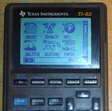 TI-82 Plus LCD