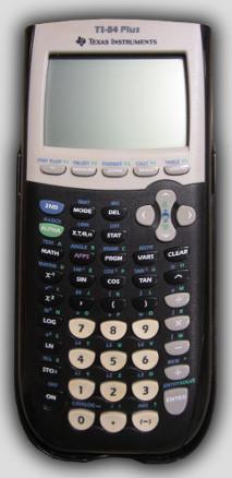 Texas instruments ti 84 plus silver edition graphing calculato.