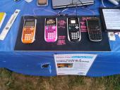 Programs and games demo'd on TI and Casio calculators