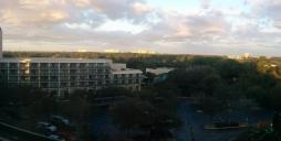 Sunrise over Orlando, Florida on the first morning of T^3 2016.