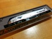 N scale P42 #99, fully upgraded and back in its box.
