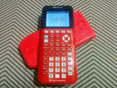 TI-84 Plus CE in Radical Red